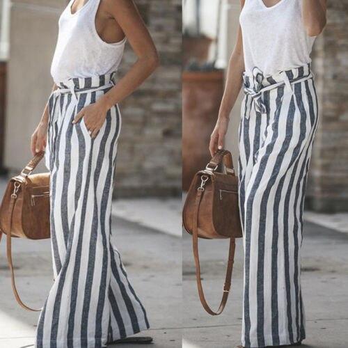 New Women See Through Boho Wide Leg High Waist Trousers Beach Long Loose Mesh Sheer Pants Hot Lovely Luster Women's Clothing Bottoms