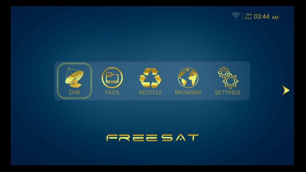 US $6 5  Freesat GTC DVB S2 DVB C DVB T2 ISDB T Amlogic S905D android 6 0  TV BOX 2 GB RAM 16 GB Satellite Receiver IPTV Arabic Europe-in Set-top  Boxes