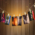 5M 20 Leds Christmas Light Indoor 3xAA Battery Operated Photo Clip String Party Wedding Home Decoration Romantic Holiday Lamp