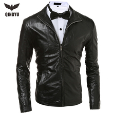 New Men Brand jacket Spring and Autumn Leather Jacket Men Motorcycle Leather Jackets Overcoat Jaqueta High Quality Punk jacket