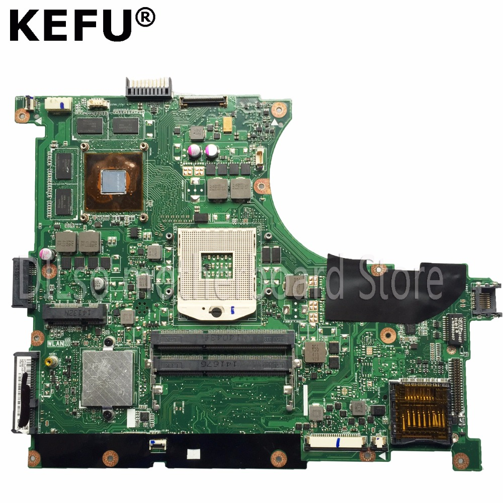 KEFU N56VM motherboard For ASUS N56VM N56VJ N56VZ N56VB Laptop motherboard N56VM GT650 mainboard 100% tested motherboard hot for asus x551ca laptop motherboard x551ca mainboard rev2 2 1007u 100% tested new motherboard