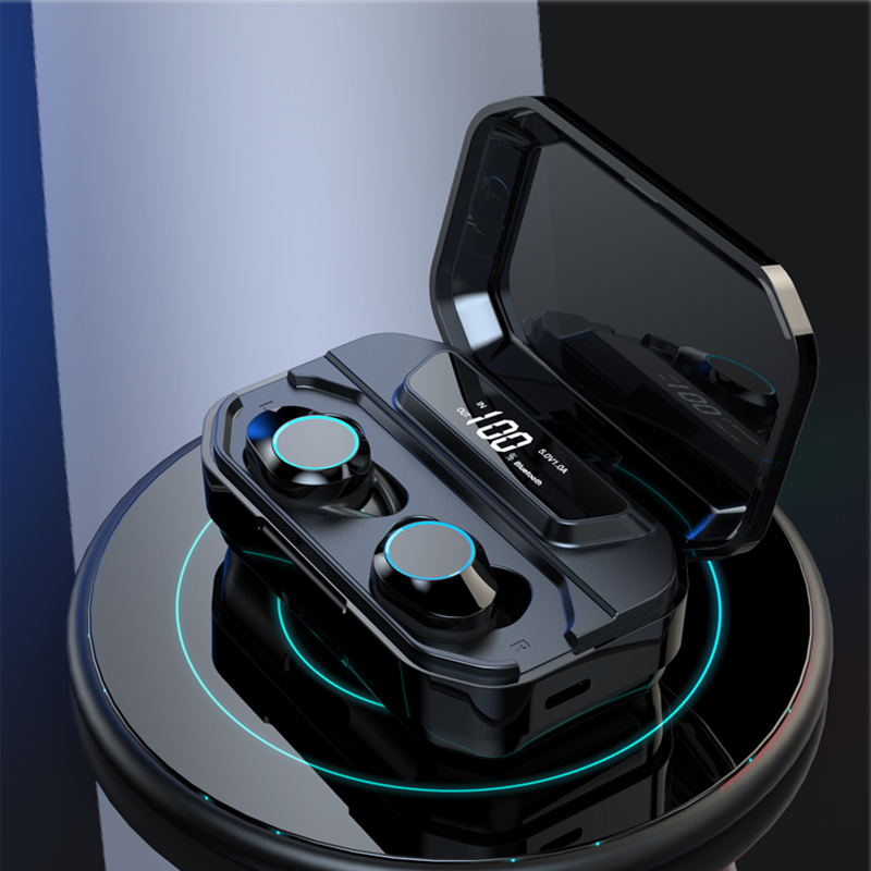 Image 2 - BANDE 3300mAh Charge Box TWS Bluetooth 5.0 Earbuds In Ear Wireless Earbuds Stereo Bass Sound  Wireless Bluetooth Earphones-in Bluetooth Earphones & Headphones from Consumer Electronics