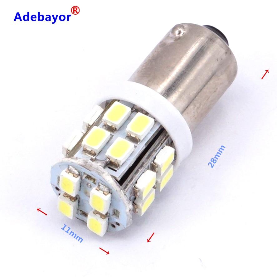 40 stücke BA9S 20 SMD 1206 BA9 20 LED T4W 3886X Lampen solar licht 12 volt freiheit lichter led-leuchten auto zubehör Adebayor