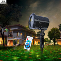 Premium Outdoor Garden Decoration Waterproof Christmas Laser Spotlight Lawn Light Star Projector Showers With Remote Controller