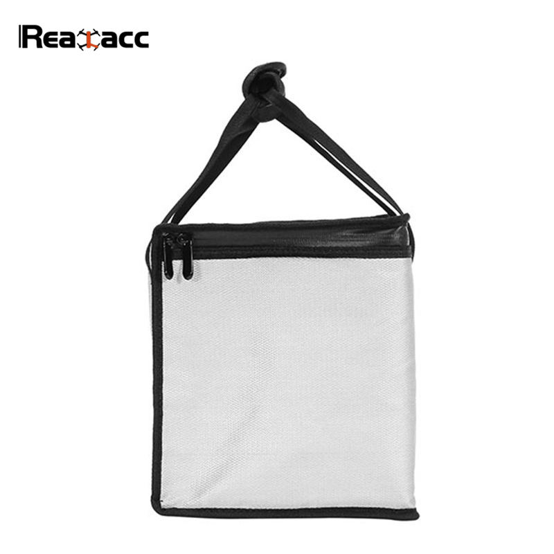 Realacc LiPo Battery Portable Safety Bag Package 355x210x240mm Handbag Soft Suitcase For RC Models Spare Parts Accs