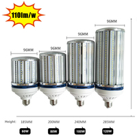 120w LED Bulb E27 E40 100w 120w Led Lamp AC220v 230v 240v 50 60hz E40 120w