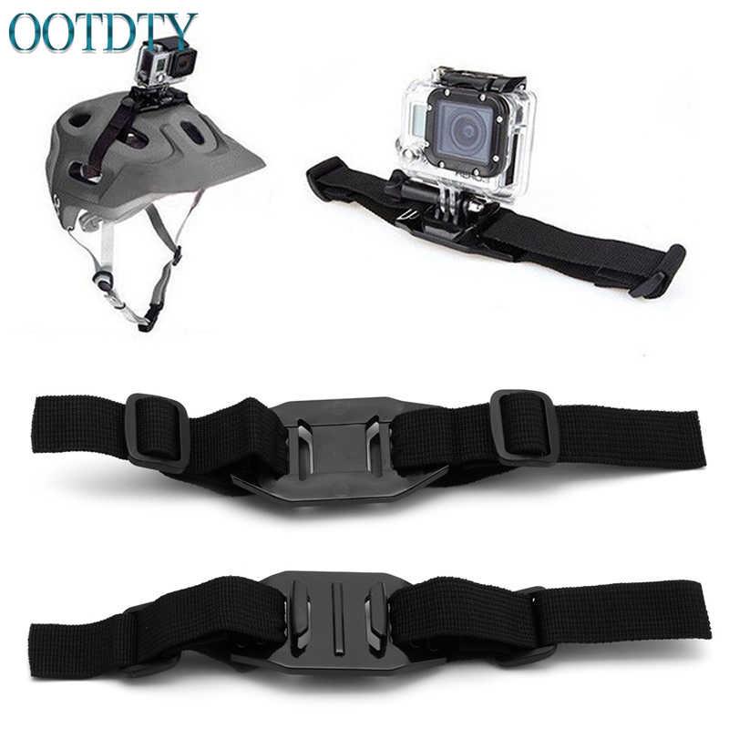 Универсальный вентилируемый ремешок шлема крепления Адаптер для спорта Камера Gopro HD Hero 1 2 3