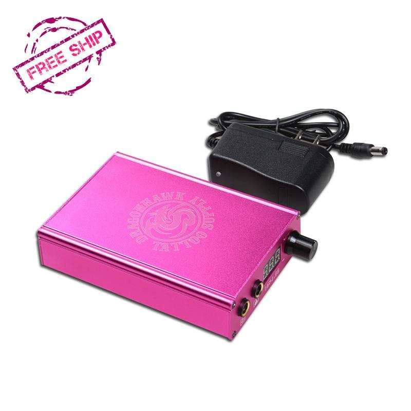 Ketibaan Baru Bateri Litium Power Box Tatu Dragonhawk LCD Untuk Mesin - Seni tatu dan badan - Foto 5