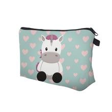 Unicorn Printing Cosmetic Bag