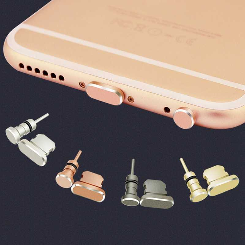 For ipad Dust Plug Mobile Phone Charge Port Stopple card hole dustproof For iPhone 4 5 5s SE 6 6s 7 8 Plus X Protect