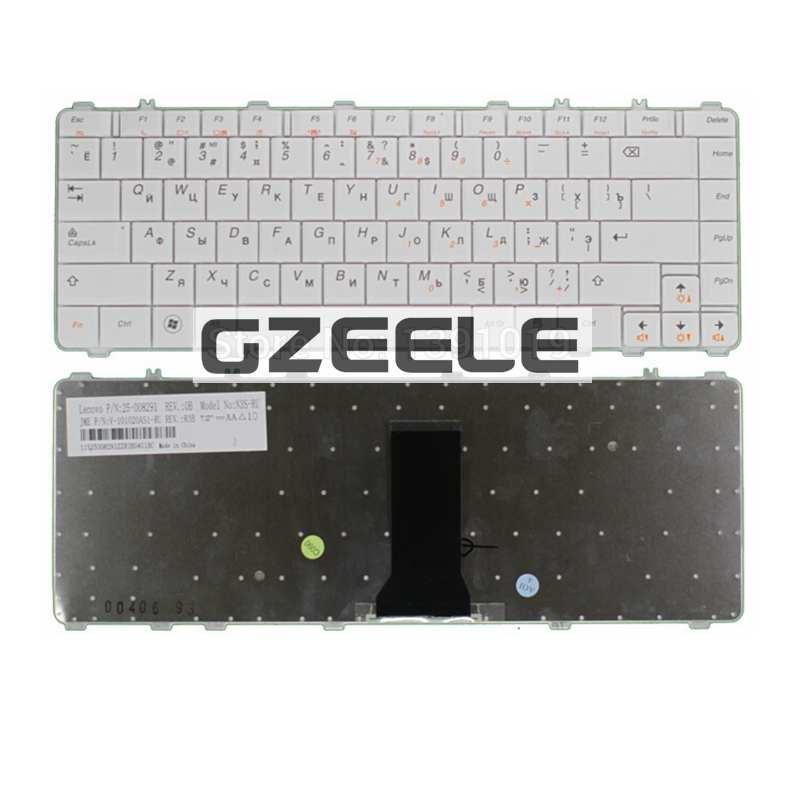 Russian Keyboard FOR LENOVO Y450 Y450A Y450G B460 Y460 Y550 Y550A y560 RU white laptop keyboard