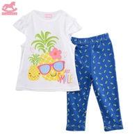 Luvena Fortuna 2pcs Baby Children Kids 2 Piece T Shirt Legging Set H9698 Sold By JD