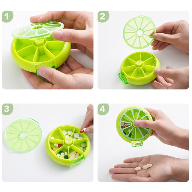 Fruit-Shaped Pill Box