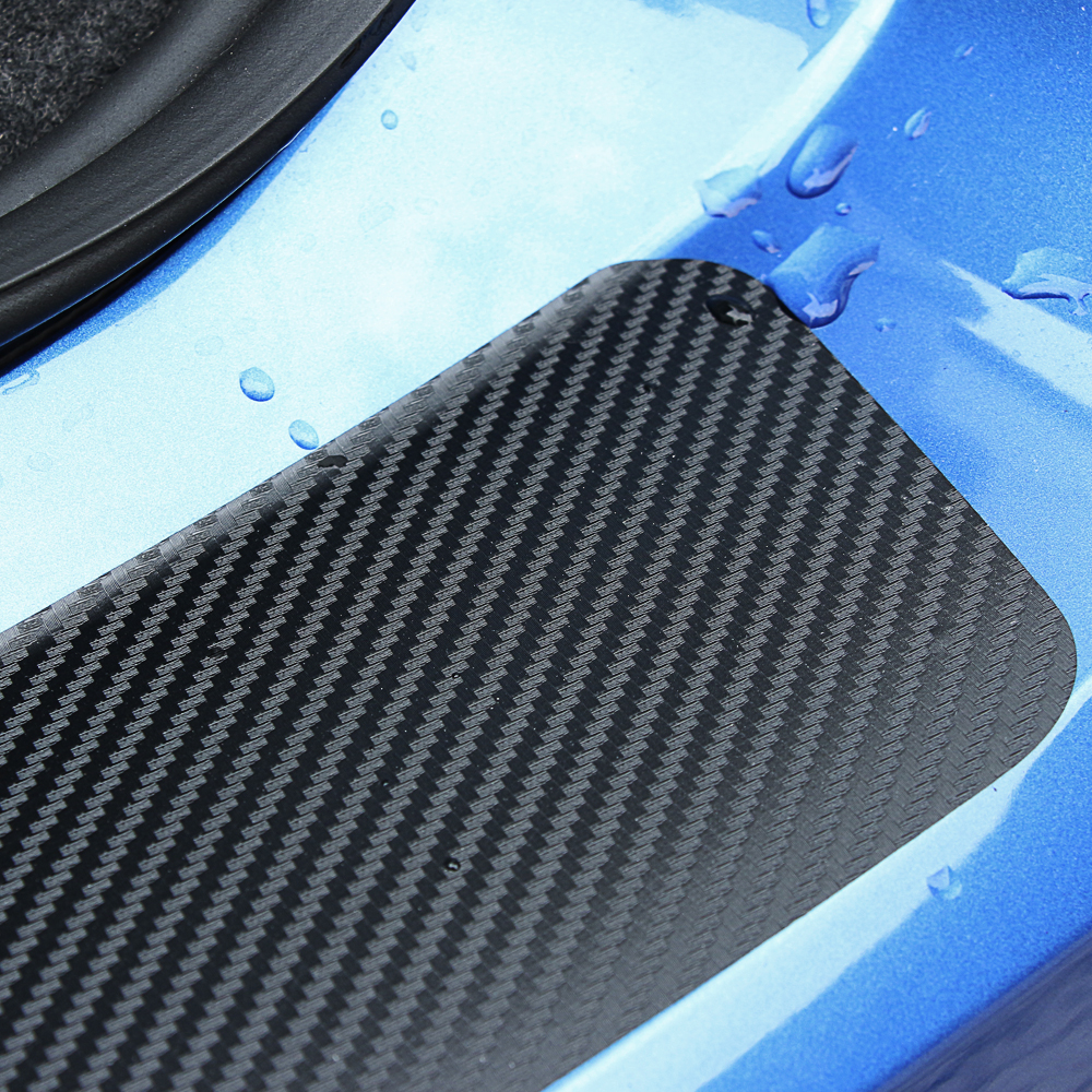 Image 5 - 1 шт. 90*8,8 см защита заднего бампера наклейка из углеродного волокна для Фольксваген Гольф 7 MK7 MK6 MK5 POLO jetta tiguan аксессуары-in Наклейки на автомобиль from Автомобили и мотоциклы