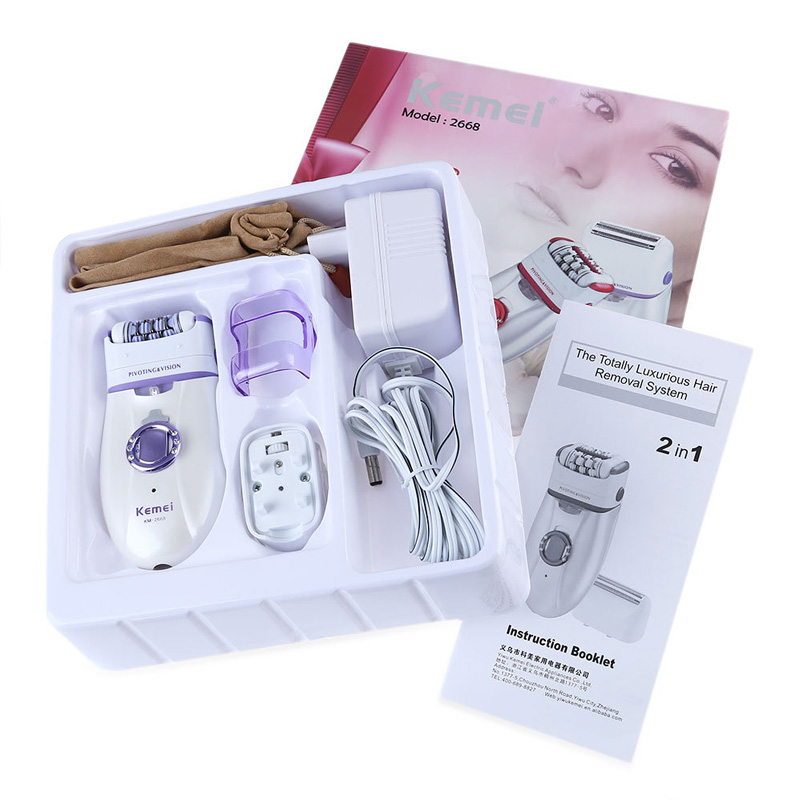 Image 5 - 220V Professional Lady Depilacion Epilator Hair Remover Electric Female Depilatory for Women Leg Full Body Use Beauty Tools-in Epilators from Home Appliances