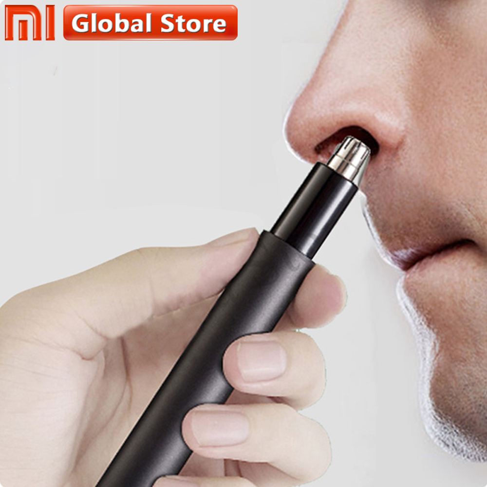 Xiaomi Mijia Electric Mini Nose Hair Trimmer HN1 Portable Ear Nose Hair Shaver Clipper Waterproof Safe Cleaner Tool For Male