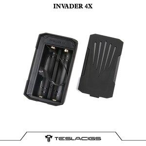 Image 2 - Originele Tesla Invader 4X Doos Mod Vape Voor Invader 4X Kit Verstelbare Voltage Elektronische Sigaret Vape Mod Vs Voopoo Slepen 2