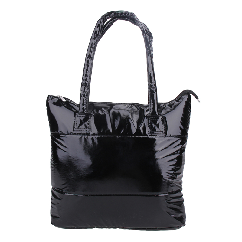 Fashion Handbag Single Shoulder Tote Women Space Pad Cotton Feather Down Bag  Bucket Bag Female Black Women  Fashion Handbag Single Shoulder Tote Women Space Pad Cotton Feather Down Bag  Bucket Bag Female Black Women