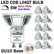 1 Pack Dimmable 2 LED Light Bulb Spotlight 4 GU10 Cup 220V  D20