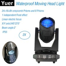 Outdoor Lighting Beam 17R 350W Waterproof Moving Head Light Double Prisms For Stage Effect Dj Night Club Wedding
