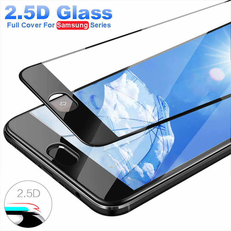 Full Cover For Samsung J8 2018 Tempered Glass For Samsung Galaxy J2 J3 J4 J5 J6 J7 Pro Prime 2017 2018 Screen Protector 9H Film