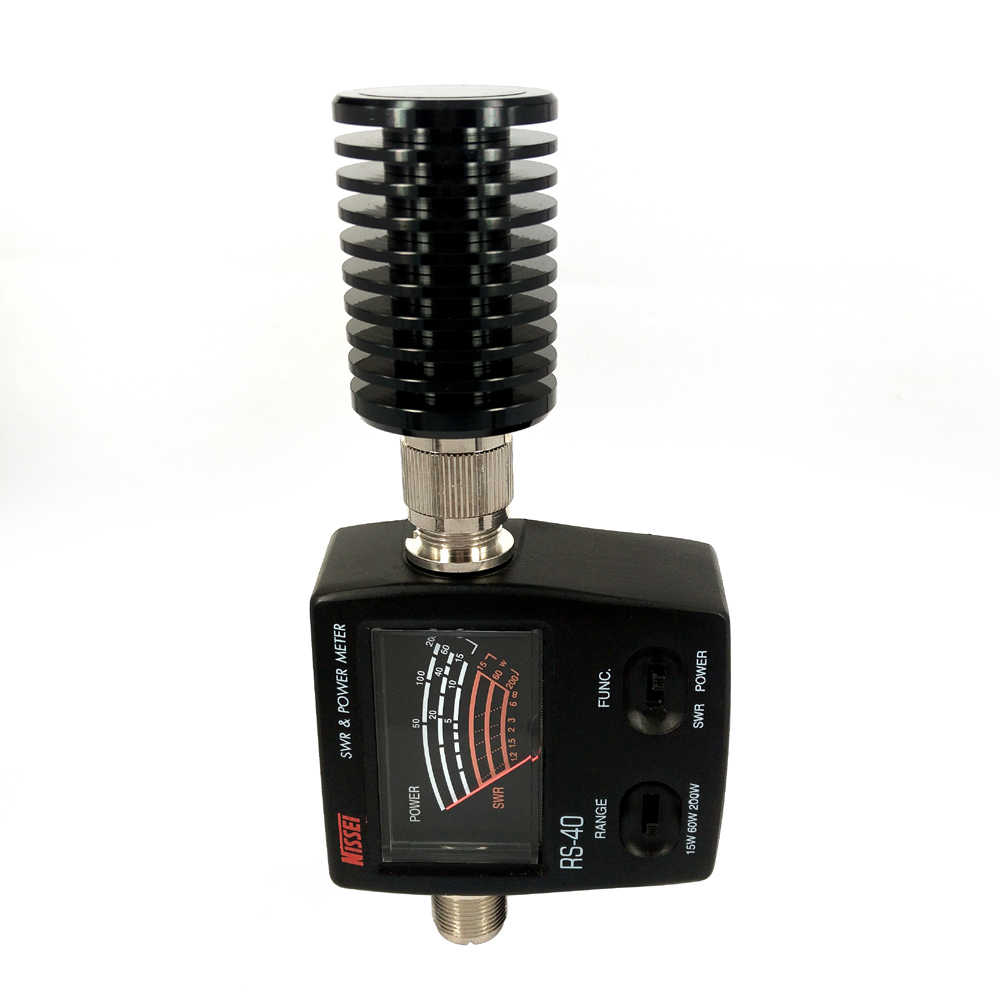 RS-40 Swr パワーメーター VHF UHF 144/430 MHz 15 ワット 60 ワット 200 ワットバンド定在波メートルテストアンテナトランシーバーカーラジオ