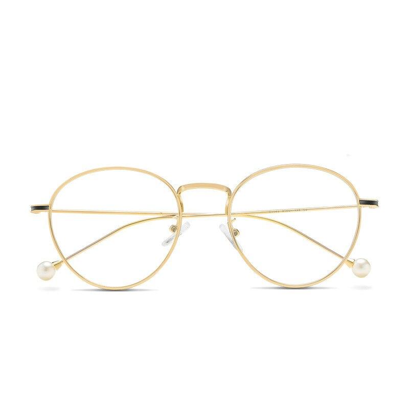 New Type Anti blue light Glasses Round Retro Spectacle Frame Computer goggles Prescription Blue Light Blocking Glasses Frames