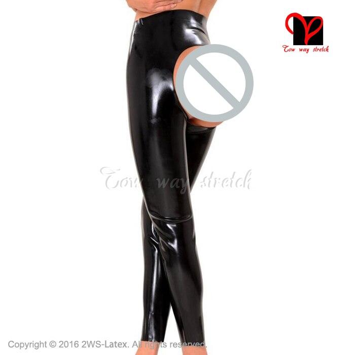Melody cuatro estirable azul Leggings a media cintura lápiz polainas Sexy mujer entrenamiento de talla grande Leggins - 4