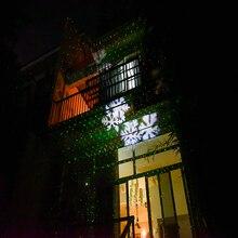 Красный и Зеленый P65 Водонепроницаемый Открытый Лазерный Луч Проектора Рождественская Ночь украшение Дома свет этапа