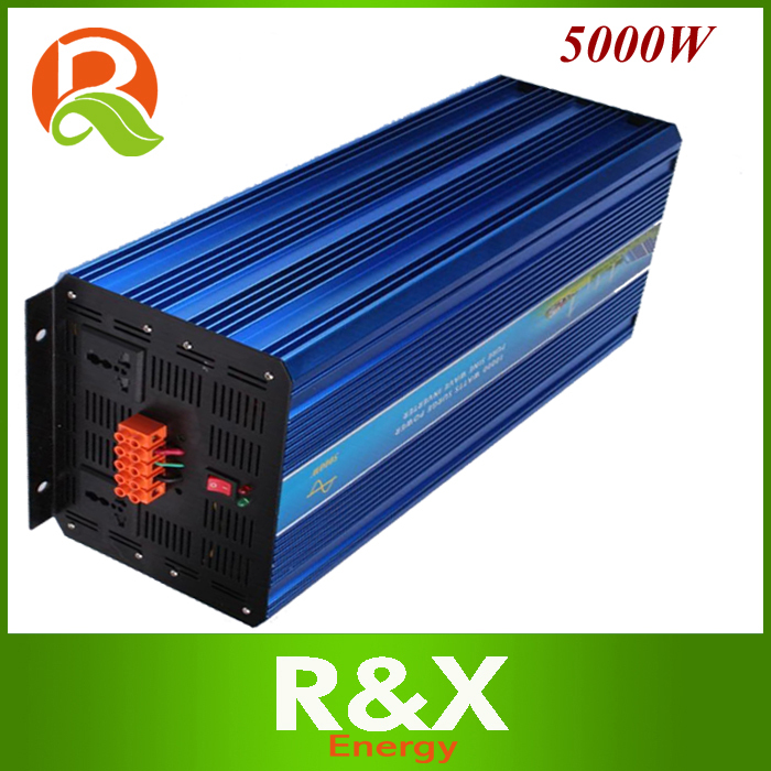 цена на 5000w pure sine wave inverter Peak 10000W wind solar inverter. DC24V/48V to AC100V/110V/120V/220V/230V/240V .