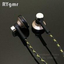 RY04 원래 이어폰 이어폰 금속 15mm 음악 품질 사운드 HIFI 이어폰 (IE800 스타일 케이블) 3.5mm 스테레오 이어 버드 헤드폰