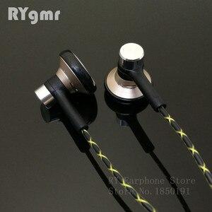 Image 1 - RY04 オリジナル in 耳イヤホン金属 15 ミリメートル音楽音質 HIFI イヤホン (IE800 スタイルケーブル) 3.5 ミリメートルステレオインナーイヤー型ヘッドフォン