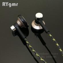 RY04 oryginalne słuchawki douszne metalowe 15mm jakość muzyki dźwięk słuchawki hi fi (kabel IE800 style) 3.5mm słuchawki stereo słuchawki