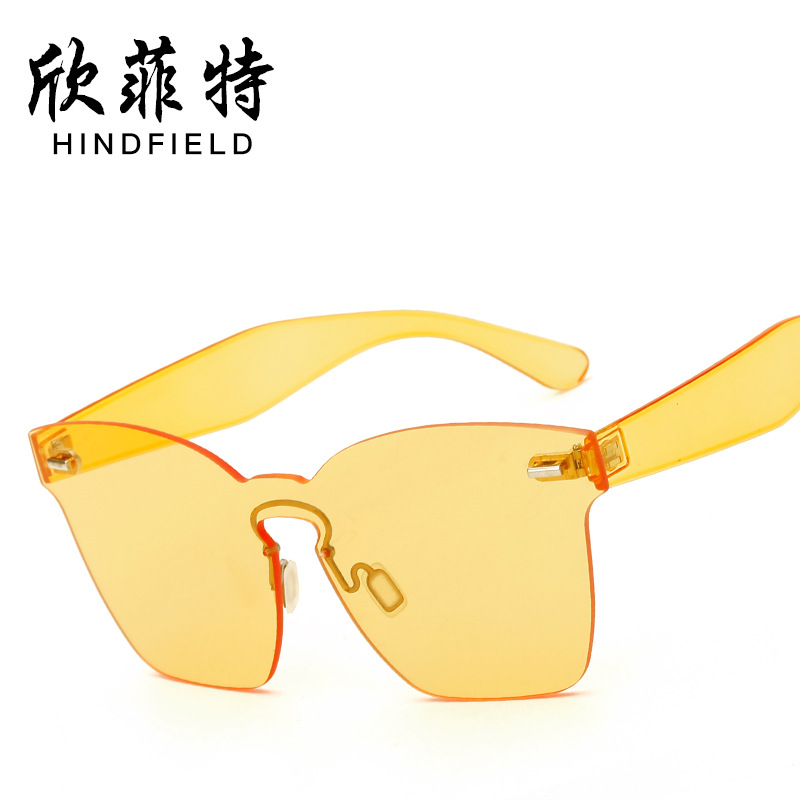 Women font b New b font sunglasses wholesale 9820 trend full Lens Sunglasses Free Shipping
