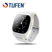 TUFEN M26 Bluetooth Smart Watch luxury wristwatch R watch smartwatch with Dial SMS Remind Pedometer for Android Samsung phone