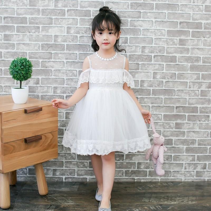 Flower Sequins Princess Toddler girls Dresses summer 2017 Halloween Party Girl tutu Dress kids dresses for Girls Clothes Wedding