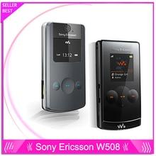 Оригинальный Sony Ericsson w508 сотовые телефоны разблокированы бренд w508 мобильные телефоны 3 Г HSDPA 2100 МП bluetooth