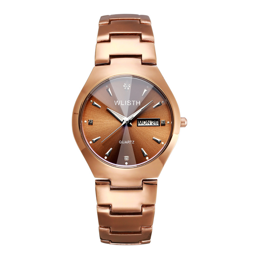 Casual Luxury Lover's Watches Fashion Quartz Women Watches Stainless Steel Dial Casual Bracele Watch Relogio Feminino Saat Gift
