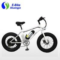 New design 20*4.0 inch 500W electric snow fat bike