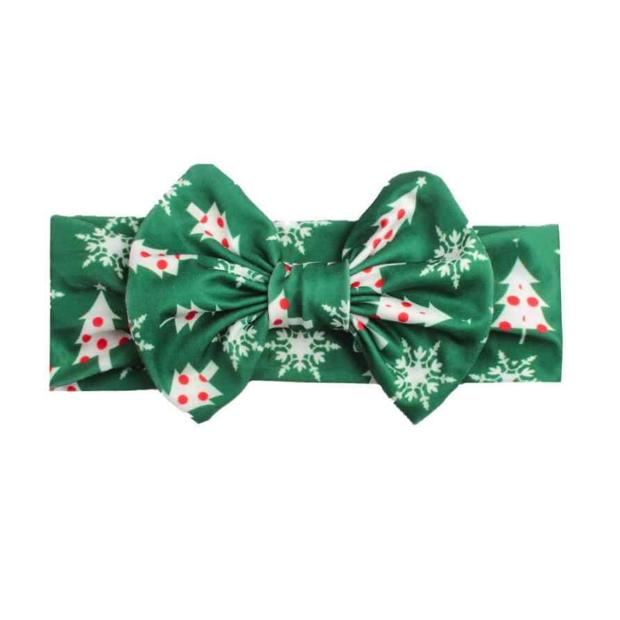 Baby Girls Headband Christmas Milk Silk Hair Head Hairband Phtography Props   5.16