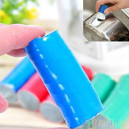 2PCS Magic Stainless Steel Rod Magic Stick Metal Rust Remover Cleaning Brushes 714D