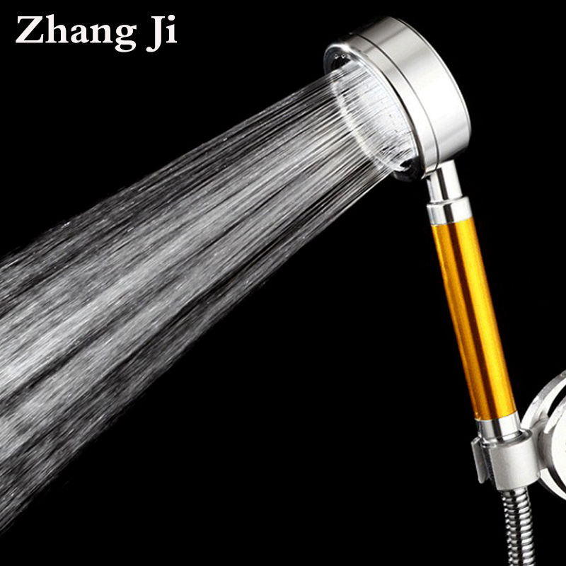 High-end Aluminum Exquisite Filtro Doccia Shower head Water Saving High Pressure Bathroom Shower Head Rainfall ZJ016