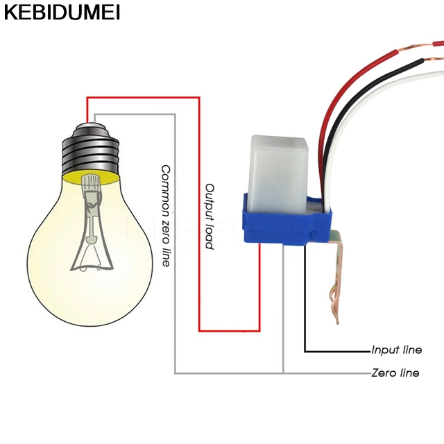 Switch automatic auto on off photocell street light switch dc ac switch automatic auto on off photocell street light switch dc ac 220v 50 60hz 10a cheapraybanclubmaster Gallery
