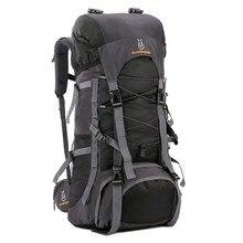 60L Высокое качество Открытый походный рюкзак водостойкая дорожная походная сумка для туризма Женский Мужской треккинг Альпинизм рюкзаки