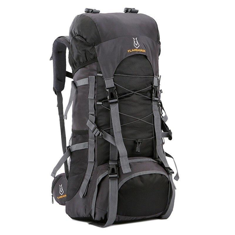 Mochila para acampar al aire libre de alta calidad 60L, mochila impermeable para senderismo, para turismo, mochilas de senderismo para hombres, para montañismo