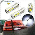 (2) 360 Degrees Xenon White 3W CRE E w/ 8-SMD BAX9S H6W 150 degress LED Replacement Bulbs For Backup or Parking Lights