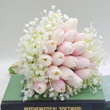 Букет цветов невесты Буке де Флорес хрустальный свадебный букет