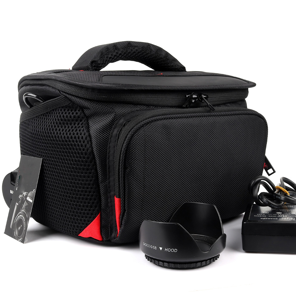 Cámara SLR D caso bolsa para Canon EOS 4000D 2000D 1300D 800D 750D 200D Cuero PU