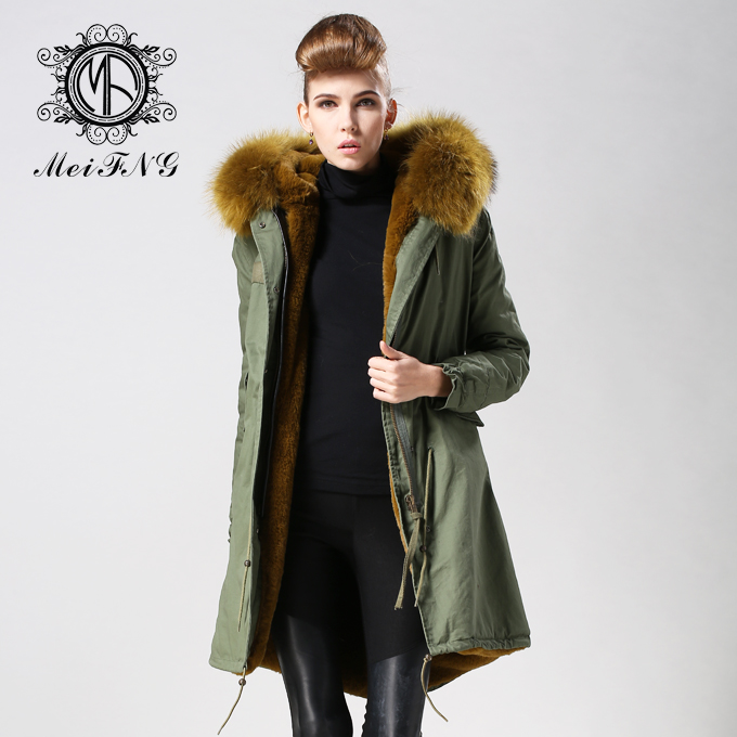 2016 Parkas For Women Winter Coat Jacket Women Out High-Quality Large Size Fashion Casual Thick Warm Raccoon Collar