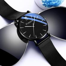 Hot Sale New Designer Waterproof Fashion Black Wirst Quarzt Watch Mans watch 2019